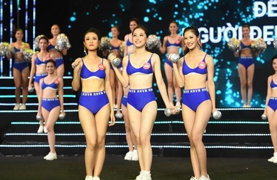 Top 3 Người đẹp thể thao của Hoa hậu Việt Nam 2018 - Topsao