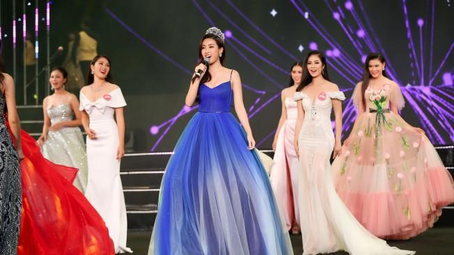 Gala 30 năm Hoa hậu Việt Nam - Đỗ Mỹ Linh khoe giọng hát mở màn đêm - Topsao