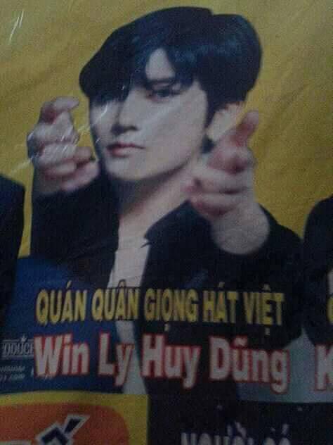 Ren (Nu'est) a.k.a Win Ly Huy Dũng, quán quân Giọng hát Việt