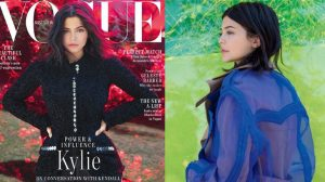 Kylie Jenner kín đáo bất ngờ vẫn gợi cảm trên bìa Vogue đầu tiên
