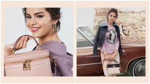Selena Gomez hợp tác với Coach ra mắt bộ sưu tập Thu Đông 2018