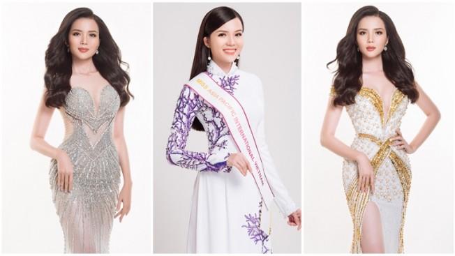 HOT: Hoa khôi Thúy Vi tham gia Miss Asia Pacific International 2018 - Topsao