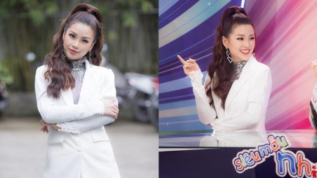 Á hậu Diễm Trang đích thị mẹ một con chăm chỉ chạy show nhất nhì showbiz