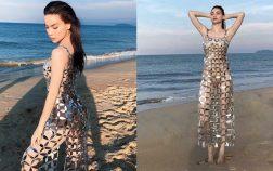 Hồ Ngọc Hà vẫn cực thu hút khi diện bikini kèm chiếc váy đục 1000 lỗ
