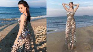 Không sở hữu thân hình nảy nở như thiên hạ, Hồ Ngọc Hà vẫn cực thu hút khi diện bikini kèm chiếc váy đục 1000 lỗ