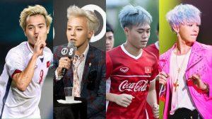 Thì ra mái tóc bạch kim của Văn Toàn được lấy cảm hứng từ thần tượng G-Dragon