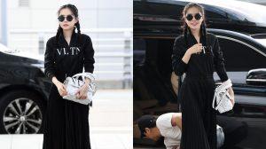Naeun (Apink) khiến dân tình dậy sóng khi ra sân bay với set đồ 5000 USD