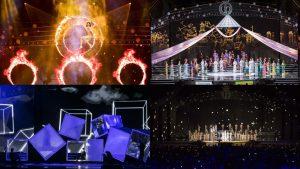 Sân khấu Hoa hậu Việt Nam 2018: Choáng ngợp, rực rỡ, đầy màu sắc