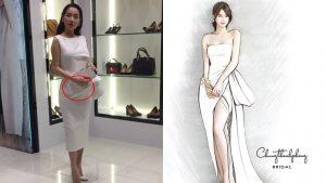 Góc đố vui: Với vòng 2 như thời điểm hiện tại, làm sao Nhã Phương có thể diện vừa thiết kế váy cưới mới nhất?