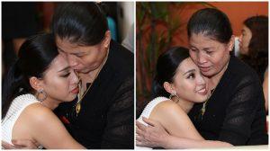 Tân hoa hậu Tiểu Vy đã không kìm được xúc động khi gặp lại bà ngoại ở quê nhà