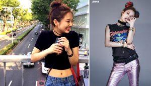 Jennie (BLACKPINK) diện quần jean chuẩn hơn mẫu