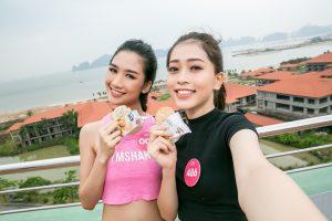 Ấn tượng hành trình giữ vóc dáng chuẩn của Top 3 Hoa hậu Việt Nam 2018