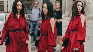 Krystal đã trở lại và gây sốt Tuần lễ thời trang Milan