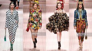 Địch Lệ Nhiệt Ba, Jessica, Davika cùng đọ sắc trong show diễn của Dolce & Gabbana
