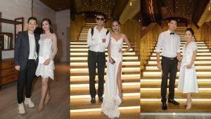 Sao Việt đổ bộ thảm đỏ, chuẩn bị dự đám cưới Trường Giang – Nhã Phương