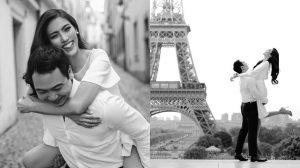 Cận kề ngày lên xe hoa, Lan Khuê 'nhá hàng' ảnh cưới đẹp như mơ tại Pháp