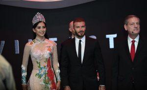 """Phỏng vấn độc quyền Hoa hậu Tiểu Vy: """"David Beckham ngoài đời còn đẹp trai hơn trong hình"""""""