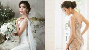 Lan Khuê lộ ảnh váy cưới mà công chúng cứ ngỡ rằng nàng đang thử đồ đi dự sự kiện