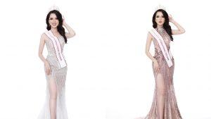Diện đầm dạ hội lộng lẫy, Thúy Vi được kì vọng sẽ làm nên chuyện tại Miss Asia Pacific International