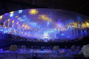 Sảnh cưới lộng lẫy đẹp như mơ với 10 nghìn ngọn nến của Lan Khuê và doanh nhân John Tuấn Nguyễn