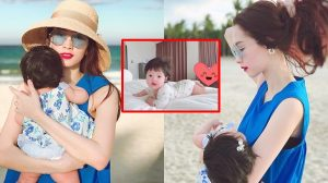 Đặng Thu Thảo gây sốt khi khoe những hình ảnh bình yên bên con gái Sophia