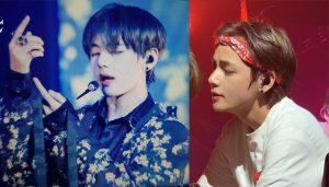V (BTS) chỉ đổi tóc mới thôi mà cũng khiến fan đứng hình