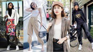 Street style sao Việt: Tóc Tiên kín đáo mà vẫn sexy nghẹt thở, Đỗ Mỹ Linh xinh như con gái Hàn