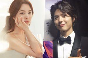 Song Hye Kyo và Park Bo Gum rạng rỡ trong buổi đọc kịch bản cho phim mới