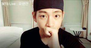 V (BTS) tiết lộ bí mật cực dễ thương, lập kỉ lục livestream tại 16 quốc gia