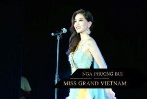 """Á hậu Bùi Phương Nga diện đầm dạ hội lộng lẫy, khoe thần thái đúng chuẩn """"beauty queen"""" tại Miss Grand International 2018"""