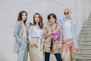 Chị gái Nam Em cùng dàn thí sinh The Face khoe hình street style bắt mắt