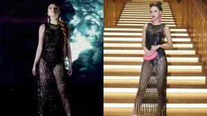 Diện lại chiếc váy được Phí Phương Anh mặc từ đầu năm, Bảo Thy kém xinh hơn bởi 1 chi tiết