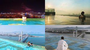 Có gì ở bể bơi vô cực sang chảnh dát vàng cao nhất thế giới