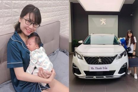 Hot Face Thanh Trần khiến fan ghen tị khi mua xế hộp tiền tỷ ở tuổi 21