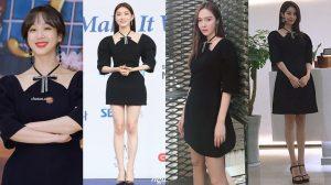 Chiếc váy khiến dàn mỹ nhân Hàn thi nhau diện dù biết sẽ 'đụng hàng'