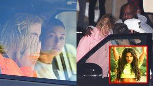 Justin Bieber khóc lóc đến bơ phờ sau khi hay tin Selena Gomez nhập viện điều trị tâm thần