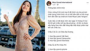 Fan nước nhà like, share kịch liệt, Á hậu Bùi Phương Nga dẫn đầu bình chọn của khu vực Châu Á tại Miss Grand International