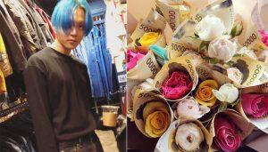 E'Dawn đổi tóc màu xanh biển, tình tứ không để đâu cho hết bên HyunA