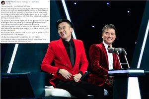 """Bị chê không để chỗ diễn cho thí sinh trong đêm chung kết Tuyệt đỉnh song ca, Dương Triệu Vũ tuyên bố """"không nhìn mặt"""" nghệ sĩ Phương Dung"""