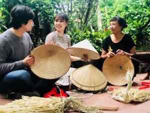 Dịu dàng nón lá làng Chuông
