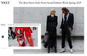 Phí Phương Anh, Hoàng Oanh dắt tay nhau lên Vogue Mỹ sau ngày đầu 'chinh chiến' tại Seoul Fashion Week