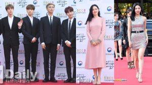 BTS, Red Velvet, 'chị đẹp' Son Ye Jin cùng dàn sao đình đám đổ bộ Korean Popular Culture & Arts Awards
