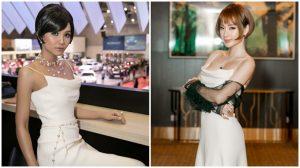 Hi hữu: Diện cùng một bộ váy, để cùng một kiểu tóc, Angela Phương Trinh với H'hen Nie như chị em xinh đôi