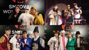 Trên sân khấu toàn trai xinh, gái đẹp nhưng khi hóa trang đi chơi Halloween, nhà SM cũng lầy đâu kém gì ai!