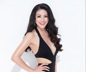 Vẻ nóng bỏng với vòng eo 56cm của Hoa hậu trái đất 2018 Phương Khánh