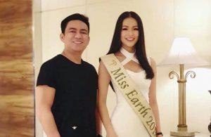 Vừa mới đăng quang, Hoa hậu Trái đất Phương Khánh đã dính nghi vấn hẹn hò với bác sĩ Chiêm Quốc Thái