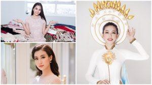 HH Tiểu Vy, Đỗ Mỹ Linh cùng dàn Hoa, Á hậu gởi lời chúc đến Thùy Tiên trước chung kết Miss International