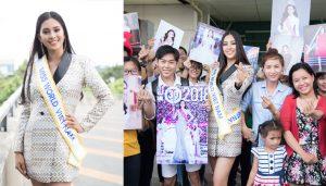 Hoa hậu Tiểu Vy chính thức lên đường tham dự Miss World 2018