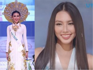 """Thùy Tiên thần thái, xuất hiện cuối như """"nữ thần"""" trong tất cả các phần thi tại Miss International 2018"""
