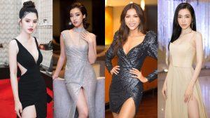 SAO MẶC ĐỈNH: Đỗ Mỹ Linh chiếm lĩnh thảm đỏ nhờ nhan sắc sexy, Elly Trần đẹp tựa nữ thần sau thời gian vắng bóng